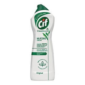 Mleczko do czyszczenia CIF Regular Cream, 650 ml/780 g