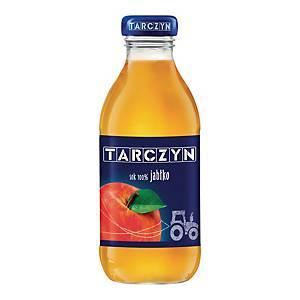 Sok jabłkowy TARCZYN, zgrzewka 15 butelek x 0,3 l