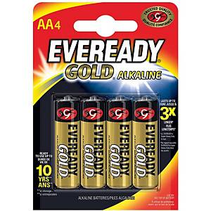 PK4 PILAS EVEREADY GOLD AA/LR6