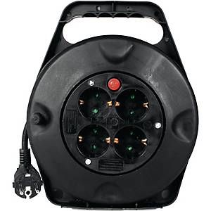 Kabeltrommel Exertis DG-XD, 10m, schwarz