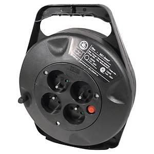 Enrouleur électrique - 4 prises - câble 10 m