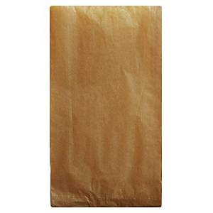 Paperipussi 20 x 7 x 35cm 3-5 kg ruskea, 1 kpl=1000 pussia