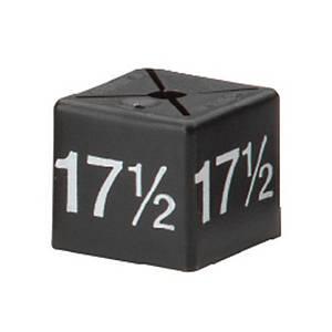 Minicube 17.5 White / Black Barnardos - Pack of 50