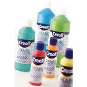 Creall Pearl peinture nacrée 500 ml argent