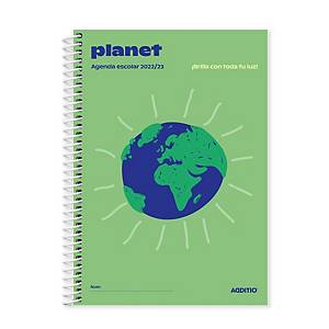 Agenda Planet ADDITIO escolar semana vista ref. A122