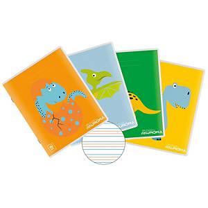 Cahier spécial 165 x 210 mm 3-3-3 mm 4 lignes