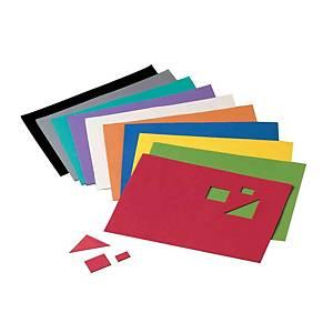 Pack de 10 hojas goma eva Fixo Kids! - 400 x 600 x 2 mm - negro