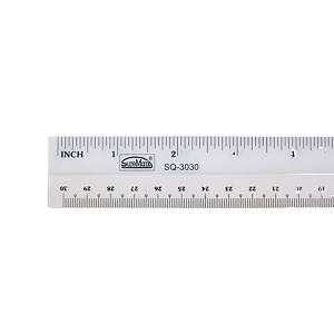 Suremark Plastic Rulers PVC 12  / 30cm
