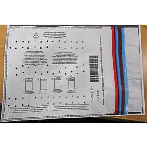 Sacs pour billets - contenance 1000 billets - 297 x 210 mm - paquet de 100