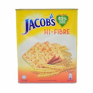Jacob High Fibre Biscuits 800g