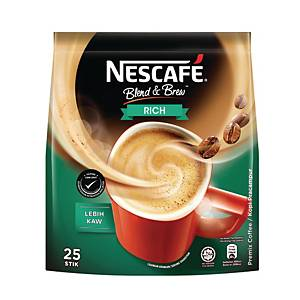 Nescafe 3 in 1 Coffee Mix Rich 19g - Pack of 25