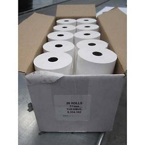 Thermal Till Roll 57X51X12.7 - Box of 20