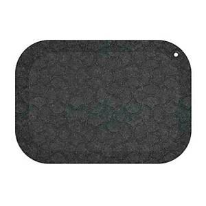 STANDUP FLOOR MATT 53X77CM BLACK