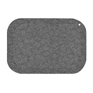STANDUP FLOOR MATT 53X77CM GREY