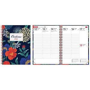 CC 2031 Ontime pöytäkalenteri 2021 A5 magnolia