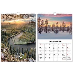 CC 5521 Suuri maisemakalenteri seinäkalenteri 2021 300 x 400 mm