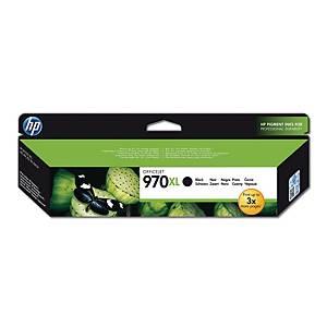 HP 970XL High Yield Black Original Ink Cartridge (CN625AE)