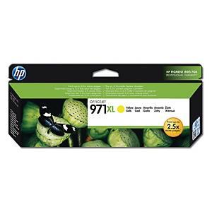 HP 971XL High Yield Yellow Original Ink Cartridge (CN628AE)