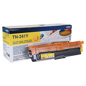 Toner laser BROTHER amarelo TN-241Y para HL3140CW/DCP9020CDW/DCP9140CDN/MFC9330