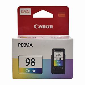 CANON CL-98 ORIGINAL INKJET CARTRIDGE - TRI COLOUR