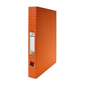 ตราม้าแฟ้ม2 ห่วง H-127 A4 สัน 1.5 นิ้ว สีส้ม