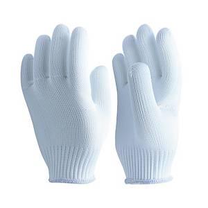 MICROTEX ถุงมือ M สีขาว แพ็ค 12