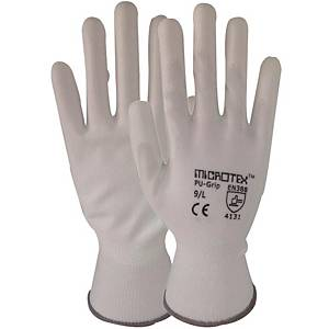 MICROTEX GLOVES COTTON PAIR MEDIUM