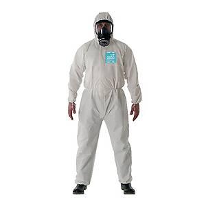 Tuta di protezione monouso Ansell Alphatec® 2000 Comfort bianco tg L