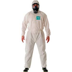 ALPHATEC COVERALL M WH
