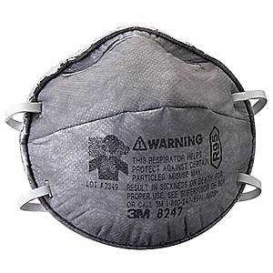 3M R95 8247 SOLVENT-PARTICULATE RESPIRATOR PACK OF 20