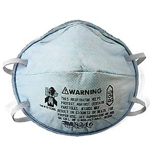 3M R95 8246 PARTICULATE ACID GAS RESPIRATOR PACK OF 20