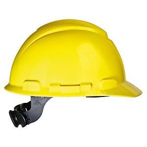 3M หมวกนิรภัย H-702R ปรับหมุน เหลือง