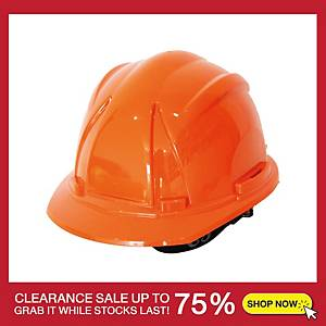 TONGA 5100 SAFETY HELMET TURN ORANGE