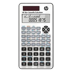 HP 10S+ wetenschappelijke rekenmachine, 2 lijnen, 10 karakters
