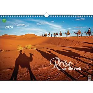 Bildkalender 2020 Brunnen 515140334, Reise um die Welt, 440 x 310mm