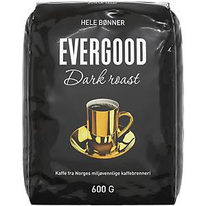 Kaffebønner Evergood Dark Roast, 600 g