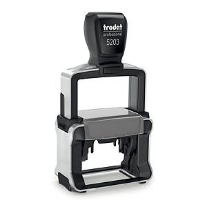 Trodat Professional 5203 customizable stamp 49 x 28mm 7 lines
