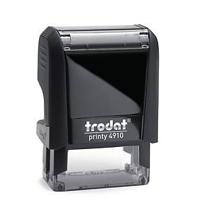 Trodat Printy 4910 customizable stamp 26 x 9mm 3 lines