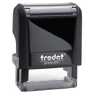 Trodat Printy 4911 personaliseerbare stempel, 38 x 14 mm, 4 lijnen