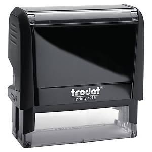 Trodat Printy 4915 personaliseerbare stempel, 70 x 25 mm, 7 lijnen