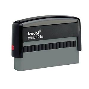 Trodat Printy 4916 personaliseerbare stempel, 70 x 10 mm, 2 lijnen