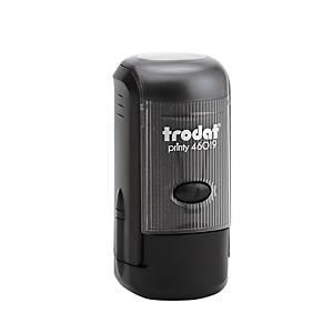 Trodat Printy 46019 tampon personnalisable diamètre 19mm 2 lignes