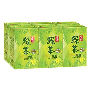 Tao Ti Green Tea Honey 250ml - Pack of 6