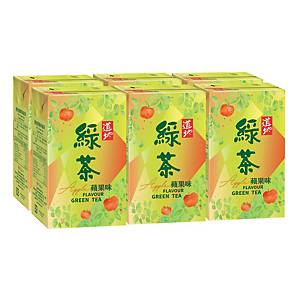 Tao Ti Apple Green Tea 250ml - Pack of 6