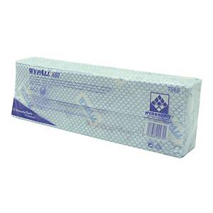 Wypall X80 Cleaning Cloth Blue - Pack of 25