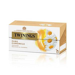 TWININGS Pure Camomile Tea Bags - Box of 25