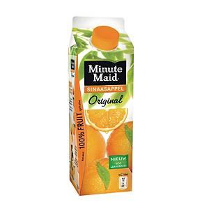 Minute Maid sinaasappel, pak van 12 brikken van 1 l