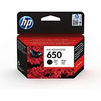 HP inkoustová kazeta 650 (CZ101AE), černá
