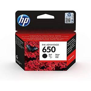HP tintapatron 650 (CZ101AE), fekete