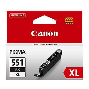 Canon CLI-551XL mustesuihkupatruuna musta